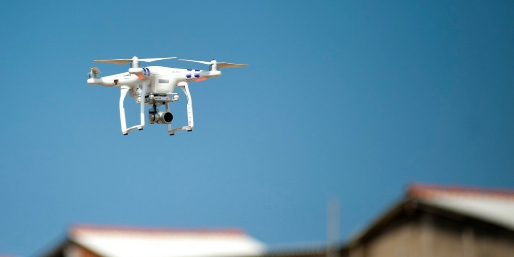 drones and AI solve last-mile challenges